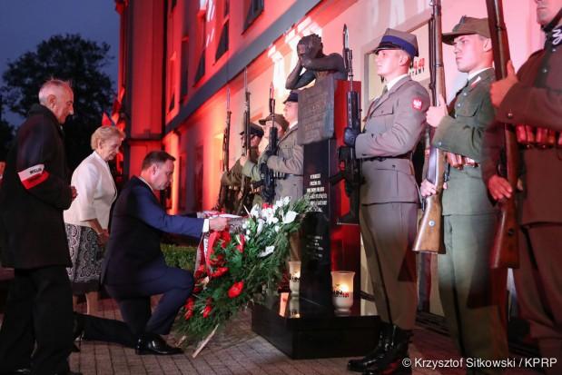 Prezydent w Wieluniu: Trzeba pamiętać kto był ofiarą, a kto mordercą
