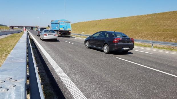 Podkarpackie. Kierowcy korzystają już z odcinka drogi S19 Sokołów Młp.-Stobierna