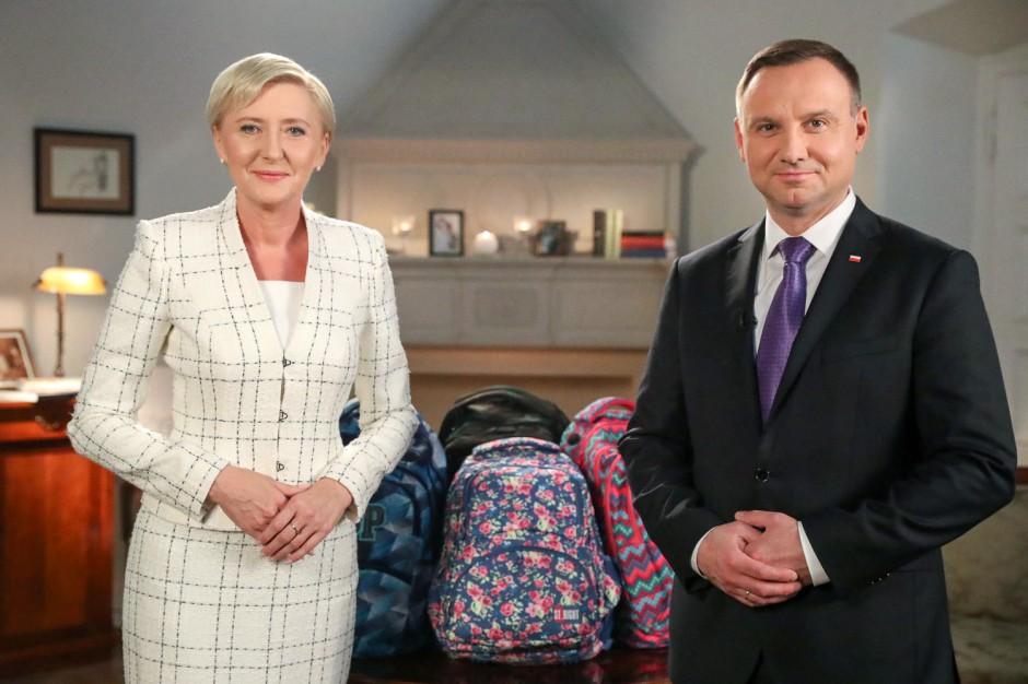 Para prezydencka na nowy rok szkolny: Niech szkoła będzie miejscem, do którego powraca się z ochotą