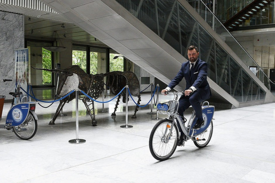 Pruszków: Kolejne miasto ma swój rower miejski