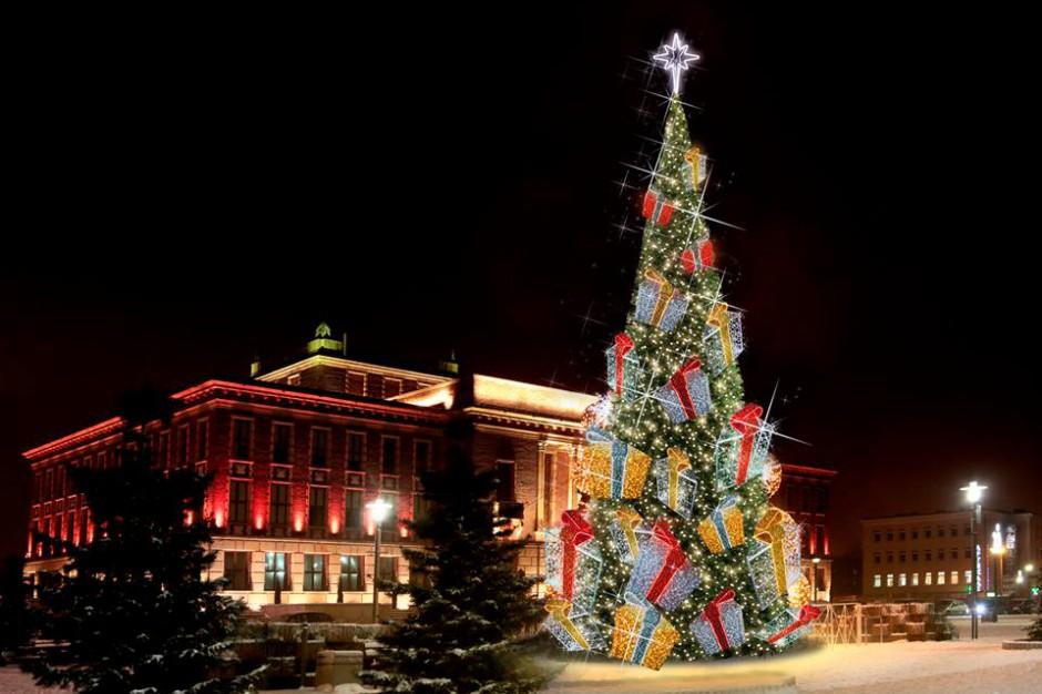 W Dąbrowie Górniczej internauci wybiorą bożonarodzeniową choinkę