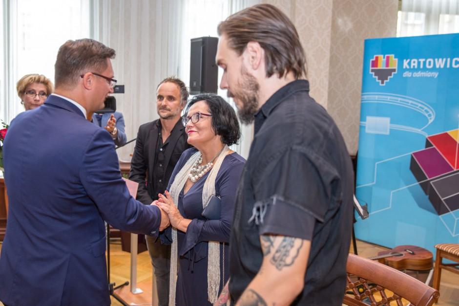 Prezydent Katowic wręczył nagrody w dziedzinie kultury