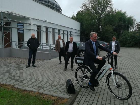 Rowery elektryczne na ulicach Bydgoszczy