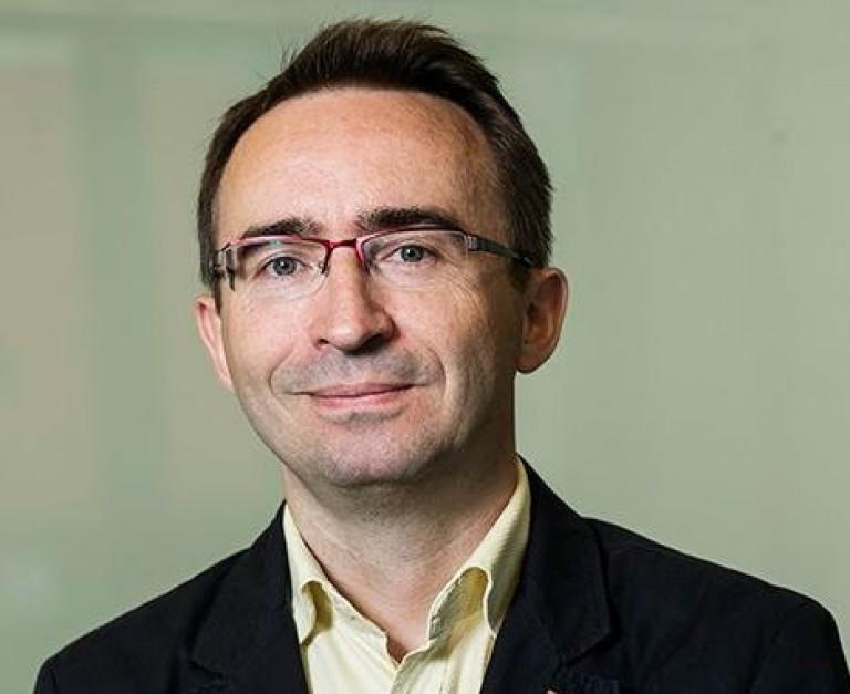 Andrzej Słodki, naczelnik Wydziału Informacji Funduszy Europejskich w Centrum Projektów Europejskich. (fot. Twitter)