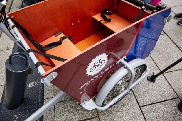 Przepisowe maksymalne obciążenie skrzyni rowerów to 100 kg (fot.lodz.pl)