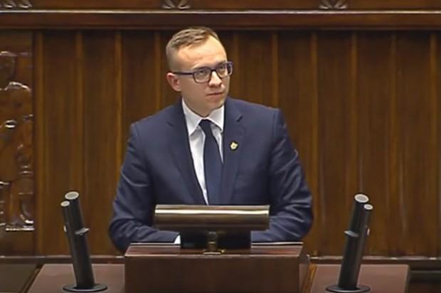 Poseł Artur Soboń (fot.youtube)