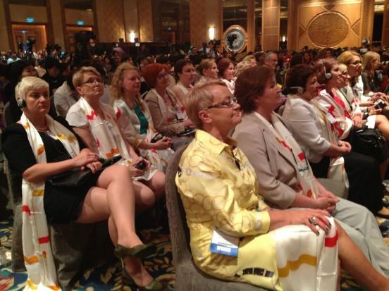 W Poznaniu rozpoczął się drugi dzień obrad IX. Kongresu Kobiet