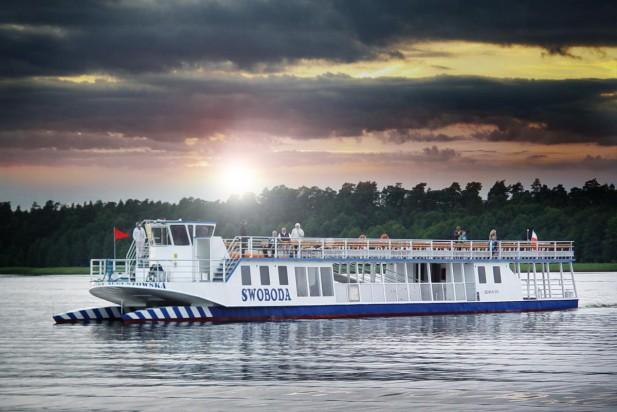 Podlaskie. Gorszy sezon Żeglugi Augustowskiej ratują pasażerowie ze Wschodu