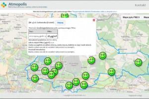 Miasto na bieżąco raportuje o jakości powietrza