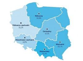 Polska A i B? Rynek pracy zaciera różnice między regionami