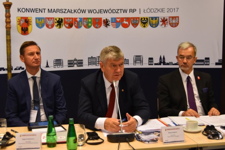 Konwent Marszałków: Samorządy chcą dla siebie specjalnego planu