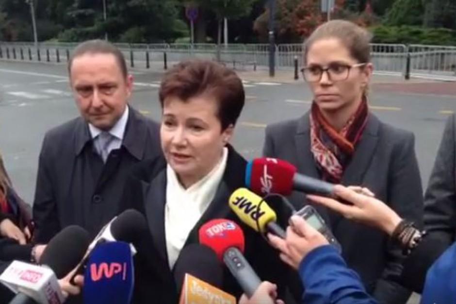 """Gronkiewicz-Waltz chwali małą ustawę reprywatyzacyjną: """"Czekamy na kompleksową ustawę"""""""