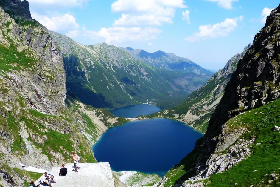 Tatry: Rekordowa liczba turystów podczas wakacji