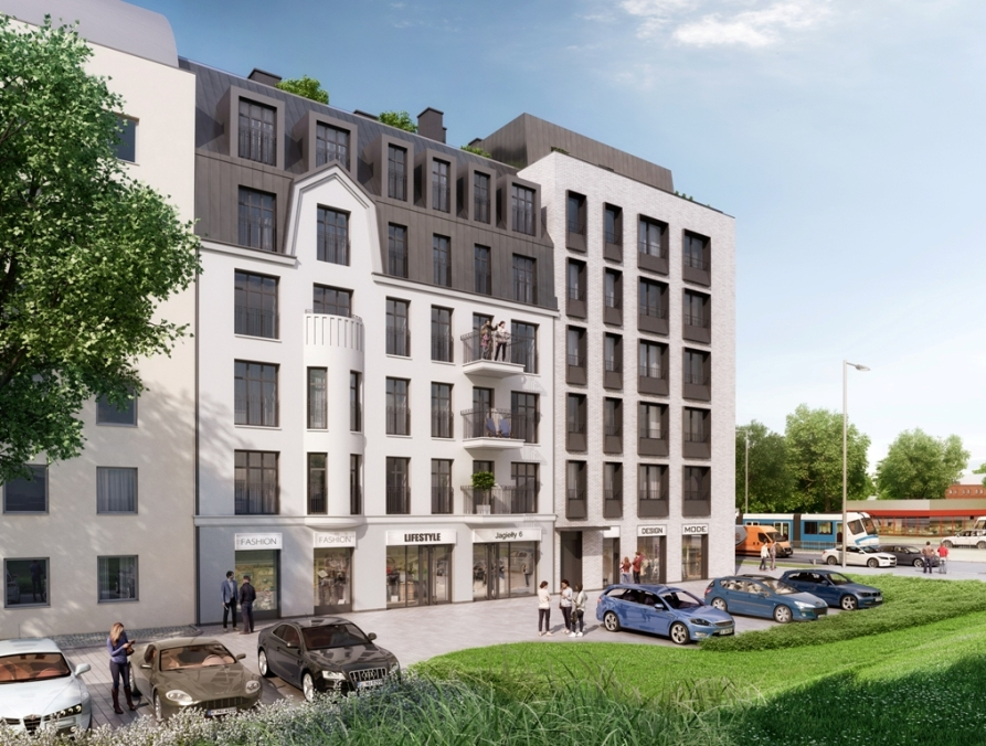 Autorem projektu apartamentowca jest ceniony wrocławski architekt Zbigniew Maćków. (Fot. mat. pras.)