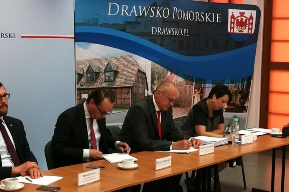 Drawsko Pomorskie zaprasza RPO. Temat spotkania: przyłączenie zadłużonych Ostrowic