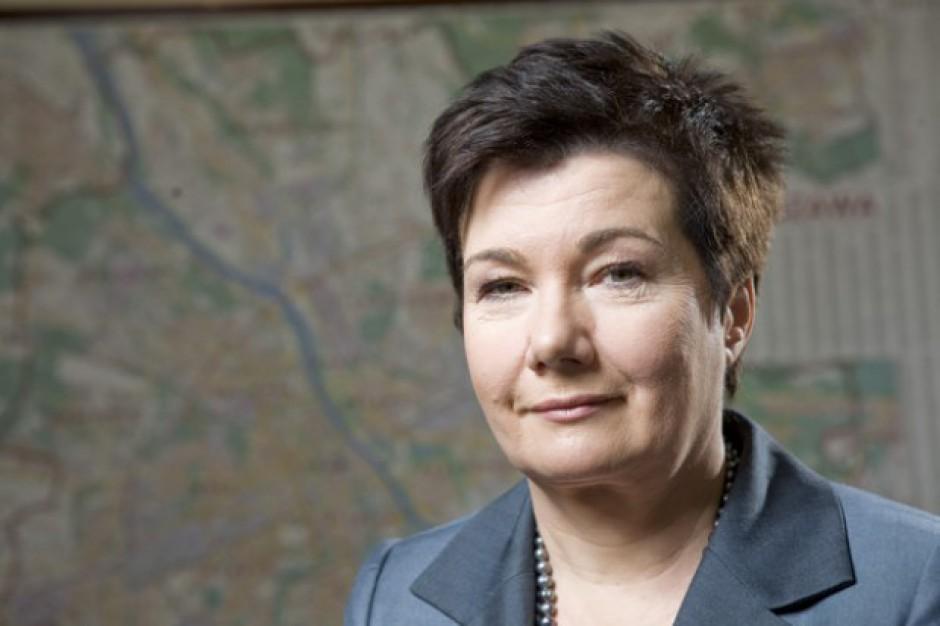Hanna Gronkiewicz-Waltz o egzekucji grzywien: To akcja polityczna