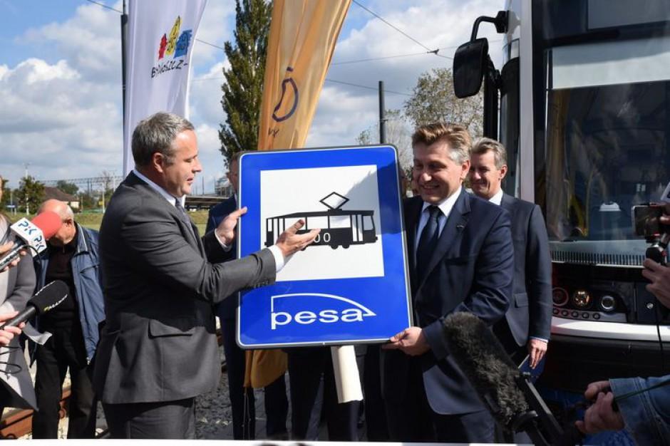Pięćsetny tramwaj z Pesy na polski rynek dla Bydgoszczy