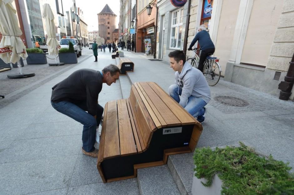 Gdańsk umeblował jedną z miejskich ulic