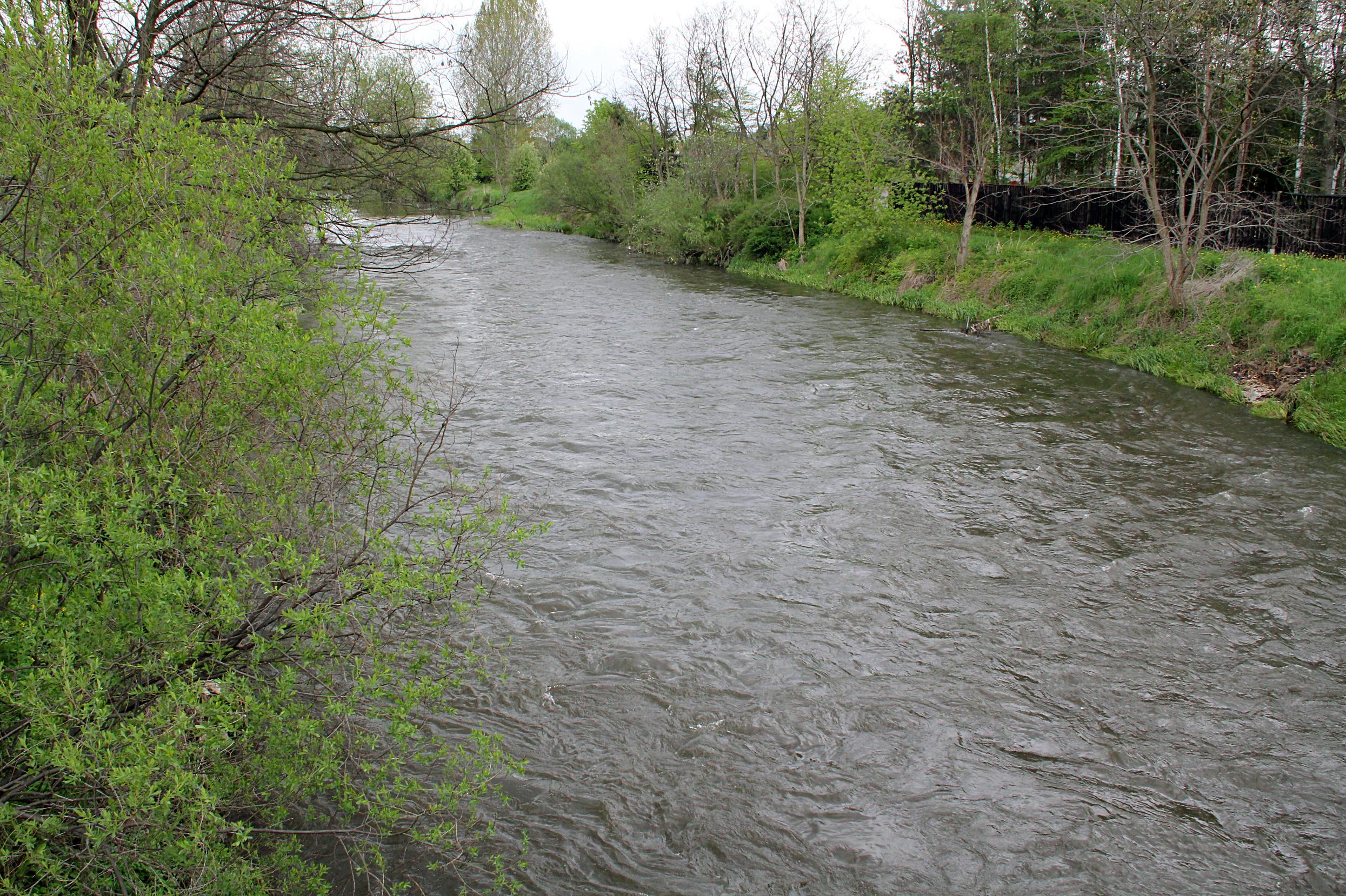 Intensywne deszcze spowodowały znaczące podniesienie poziomu wód fot. Urząd Województwa Śląskiego