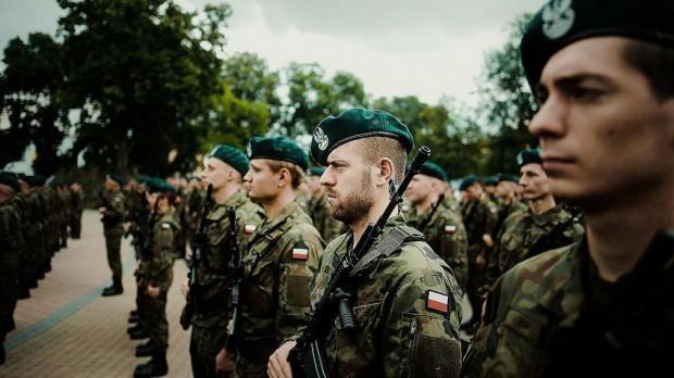 W pięciu miastach Polski wschodniej przysięgi żołnierzy WOT