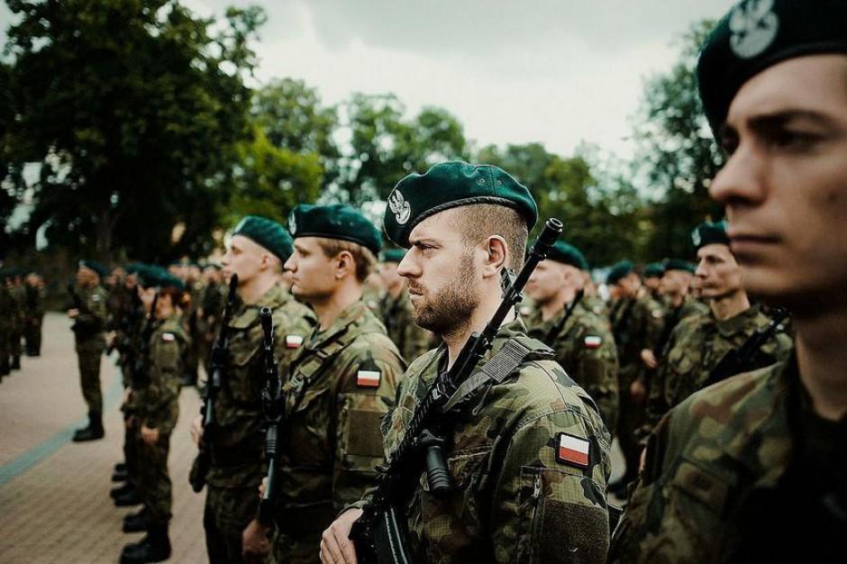Ślubowanie żołnierzy WOT w Zamościu, Mońkach, Sanoku, Przemyślu i Nisku