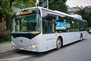 Elektryczne autobusy mogą sprawdzić kłopot energetykom