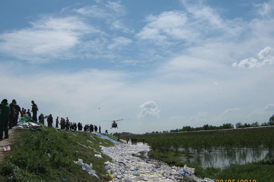 W Sandomierzu i Zawichoście przekroczone stany ostrzegawcze na Wiśle