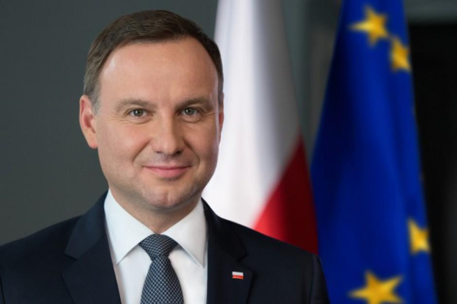 Andrzej Duda: w Warszawie powinny być budynki bardziej eksponowane niż PKiN