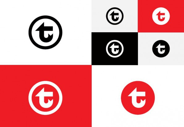 Nowe logo w różnych wersjach kolorystycznych (fot.mat.pras./UM Warszawa)
