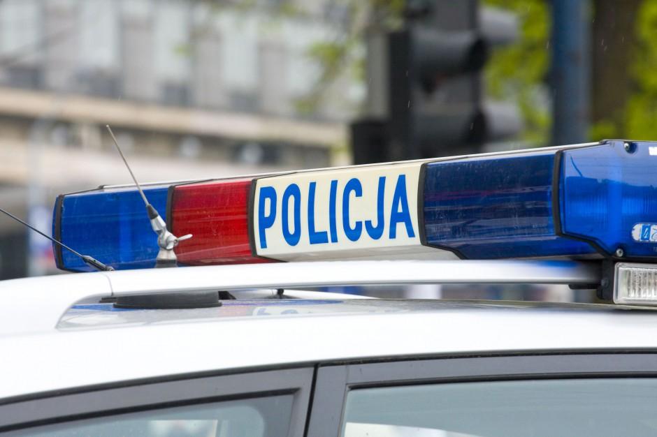 Pijany policjant spowodował kolizję drogową Gniewięcinie