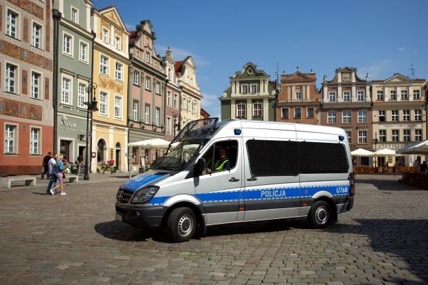 Mariusz Błaszczak zachwala dobrą zmianę w policji