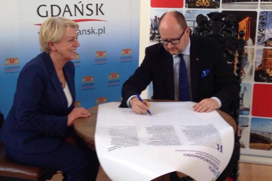 Gdańsk z Kartą Różnorodności. Jako czwarte miasto w Polsce