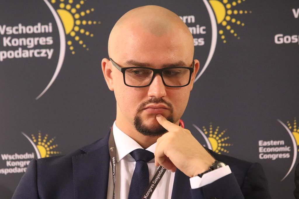Adam Gardocki, partner zarządzający na region AIP Białystok i Lublin w Inkubatory AIP (fot. Grupa PTWP)