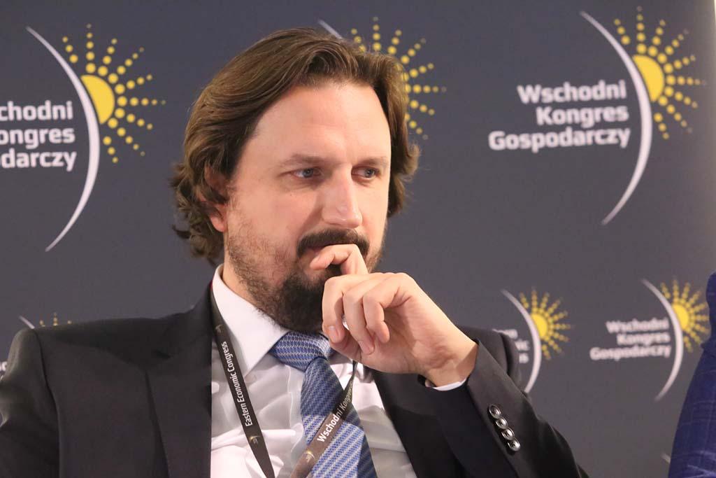 Rafał Pawełczyk, dyrektor zarządzający ds. korporacyjnych Agencji Rozwoju Przemysłu (fot. Grupa PTWP)