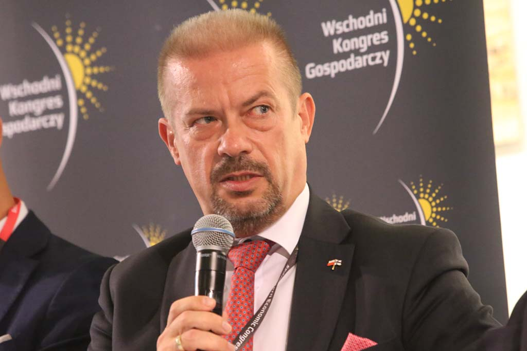 Andrzej Parafiniuk, prezes Podlaskiej Fundacji Rozwoju Regionalnego (fot. Grupa PTWP)