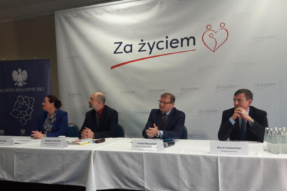 """W Opolu zakończyły się konsultacje programu """"Za życiem"""""""