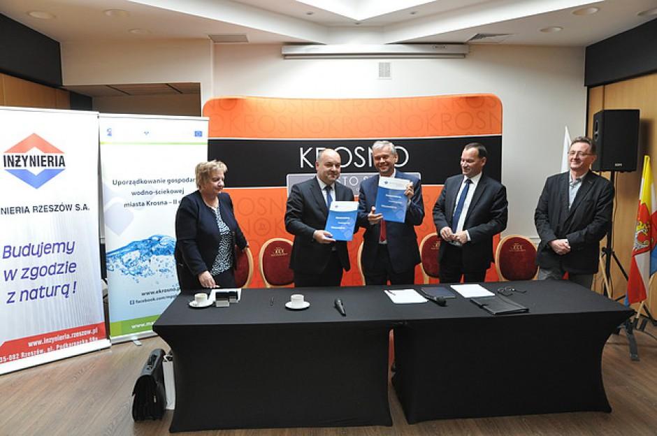 Umowę na modernizację zakładu podpisano w środę, 4 października. (fot. MPGK Krosno)