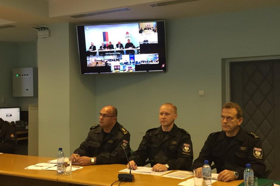 Orkan Ksawery, wichury nad Polską: Szef MSWiA rozmawia z wojewodami