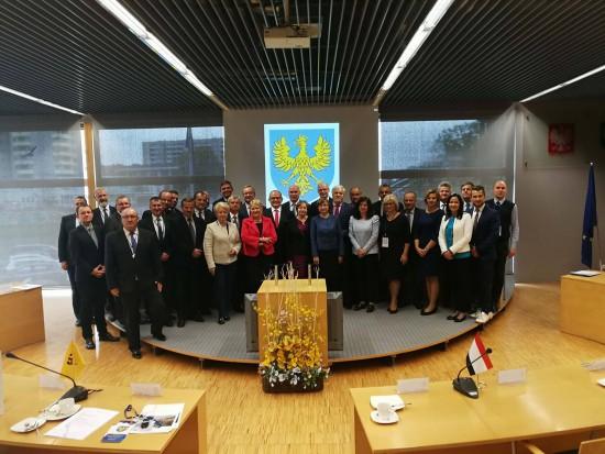 Konwent Przewodniczących i Dyrektorów Biur Sejmików Województw RP obradował na Opolszczyźnie