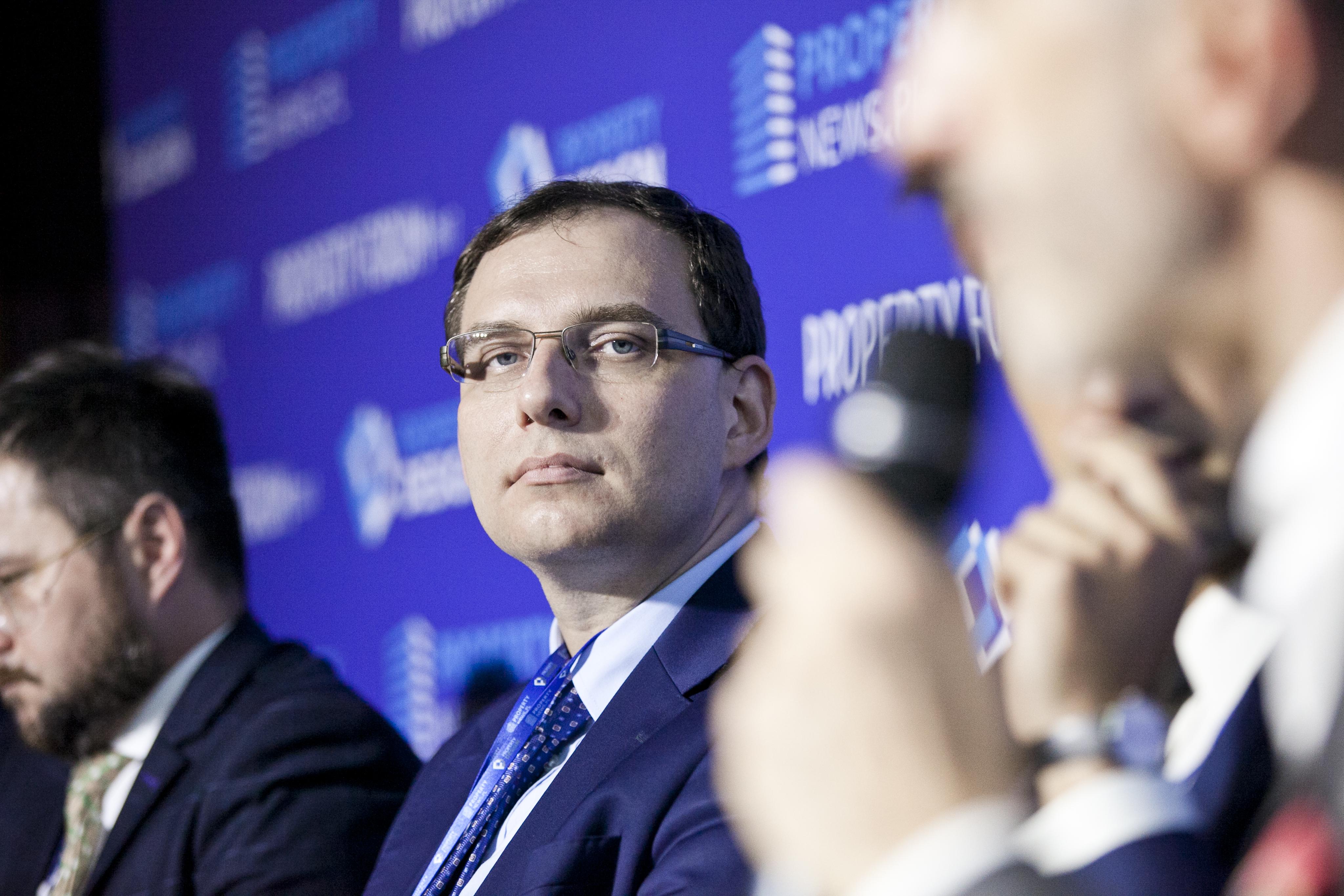 Mateusz Skowroński, naczelnik Wydziału Obsługi Inwestorów w Urzędzie Miasta Katowice wyjaśnia, że jego miasto ma lokalny program rewitalizacji. fot. PTWP