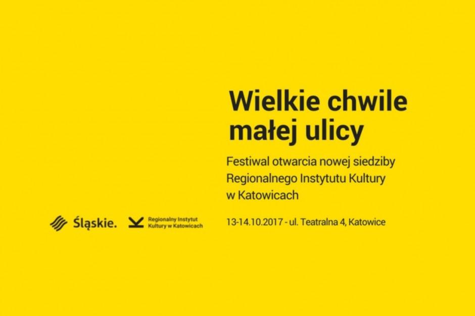 Katowice: Regionalny Instytut Kultury ma nową siedzibę