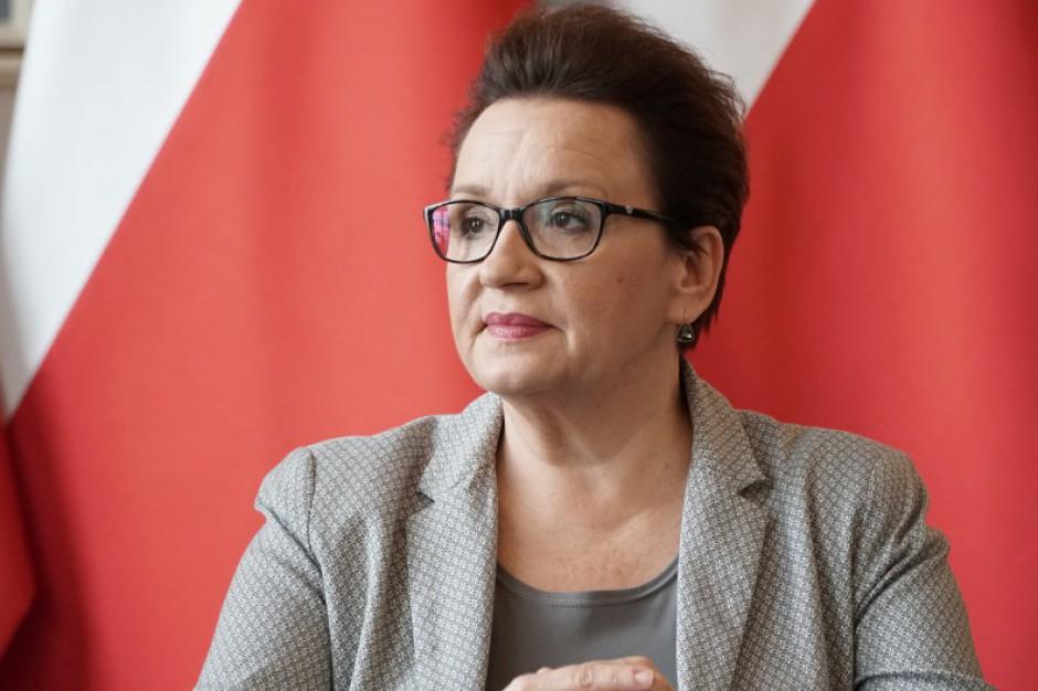 Anna Zalewska zapewnia: Nikt nie stracił pracy w wyniku reformy edukacji