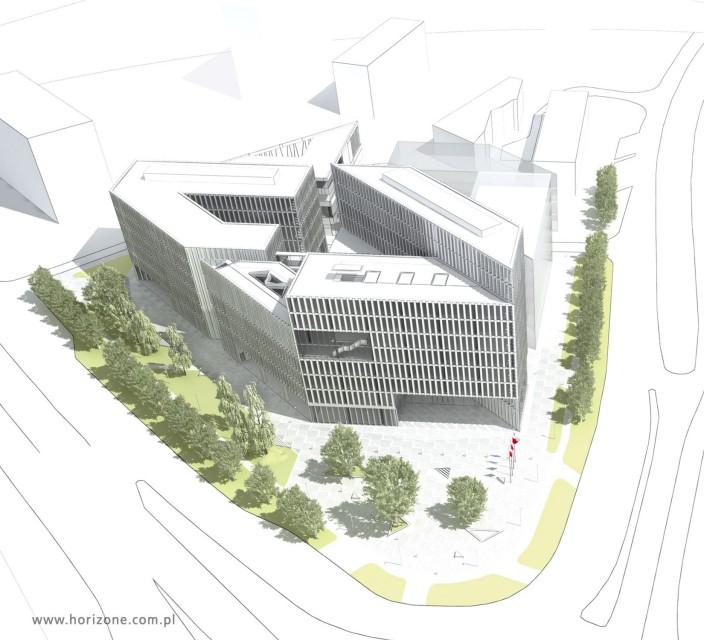 Ratusz Marszalkowski - projekt (fot. Horizone Studio/propertydesign.pl)