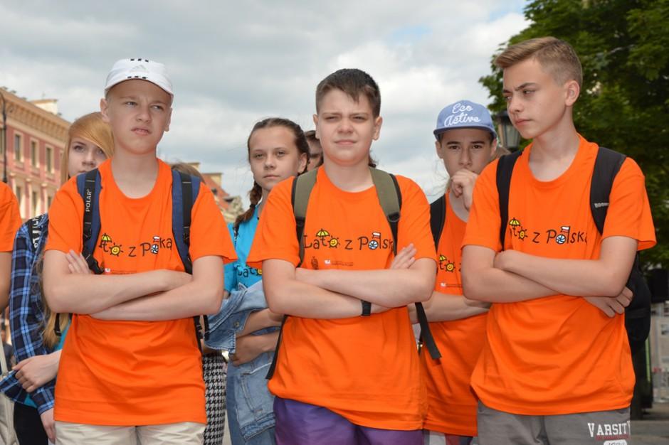 Dzieci Polonii z Irlandii, Ukrainy i Litwy wypoczywają na Warmii i Mazurach