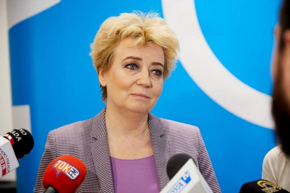 Sąd: Hanna Zdanowska poświadczyła nieprawdę