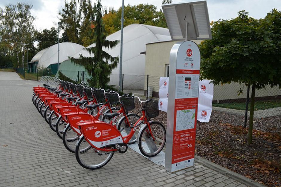 Ostrów Wielkopolski: ruszyła miejska wypożyczalnia rowerów