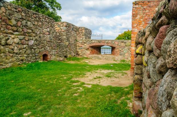 Szczytno inwestuje w ruiny krzyżackiego zamku