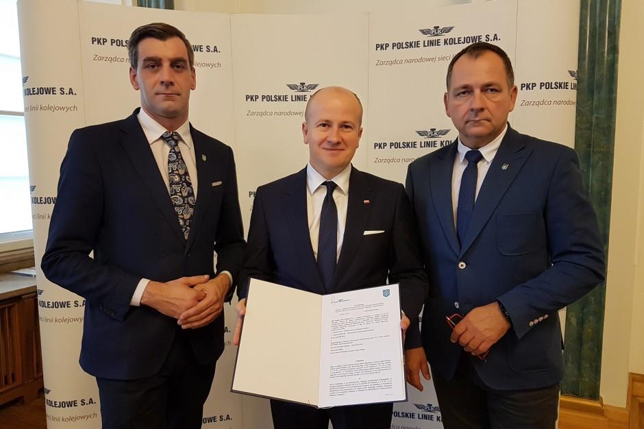 List intencyjny ws. budowy tunelu drogowego pod linią kolejową w Kostrzynie