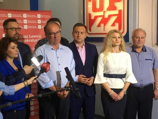 SLD w wyborach do sejmików pod szyldem SLD Lewica Razem