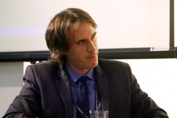 Nicolas Brookes, dyrektor do spraw polityki regionalnej w Konferencji Peryferyjnych Regionów Nadmorskich Europy. Fot. PTWP